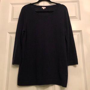 GAP Navy Blue Pointelle Sweater